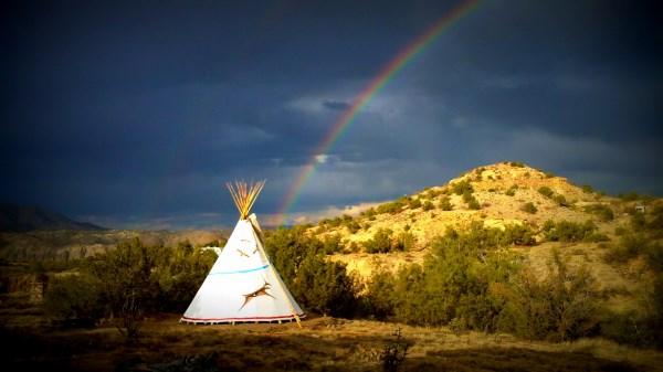 rainbow tipi1
